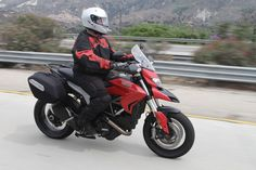2013 Ducati Hyperstrada Review from motorcycle.com