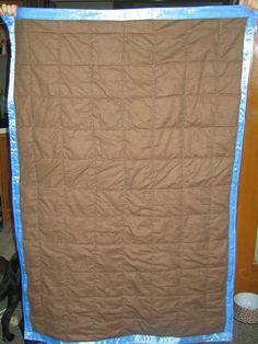 Back of Elijah's quilt