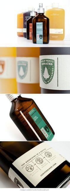 Juniper Ridge. Repinned by www.strobl-kriegner.com #branding #packaging #design #creative #marketing