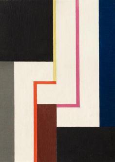 Walter Dexel, 3 crochets blancs, Préliminaires, 1966 •