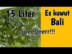 Cara membuat es kuwut Bali - YouTube Bali, Juice, Beverages, Fresh, Youtube, Food, Essen, Juices, Meals
