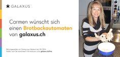 Carmen wünscht sich einen Brotbackautomaten von galaxus.ch #Galaxuslive