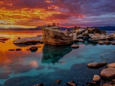 Lago Tahoe, Nevada, USA