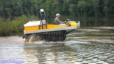 Hydratrek 6x6 Amphibious Vehicle