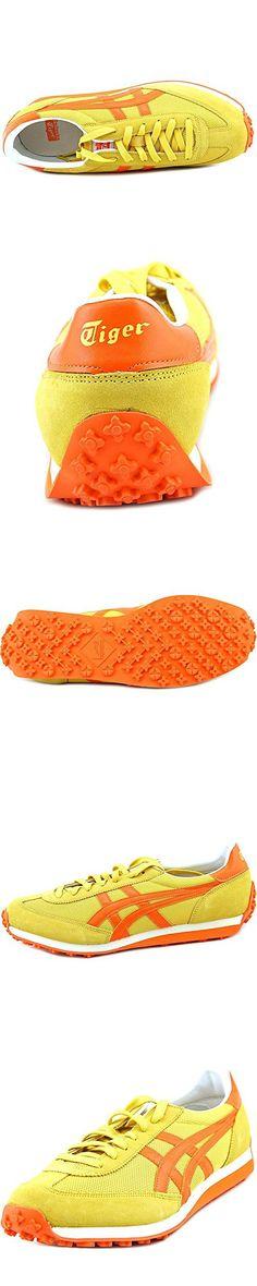 Onitsuka Tiger EDR 78 Classic Running Shoe, Yellow/Orange, 10.5 M US
