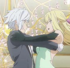 Danmachi Bell, Danmachi Anime, Couples Comics, Anime Couples, Manga Love, Anime Love, Dungeon Anime, Bell Cranel, Sasuke Uchiha Sakura Haruno