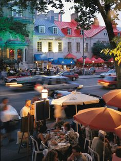 Few places are more romantic than Old Montreal at night. See what you can see on a walking tour of Vieux Montreal. Quebec Montreal, Old Quebec, Old Montreal, Montreal Ville, Montreal Canada, Quebec City, Westminster, Places To Travel, Places To See