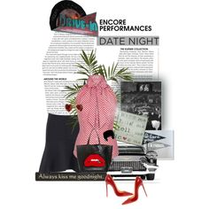 """""""Date Night at the Drive-In"""" by katrina-byrd-jones on Polyvore"""