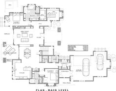 1st Floor Plan image of Two-Story Craftsman