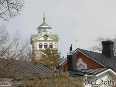 Church in Ekenäs, Finland.