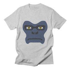 Winston Overwatch inspired fan art Smart Apeface Men's by shirtface