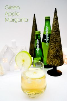 Green Apple Margarita with Appletiser. A really fresh cocktail made with appletiser. #crownthemoment