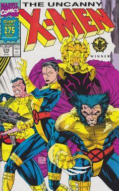 Uncanny X-Men #275 - Art by Jim Lee