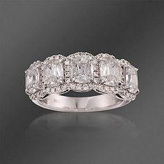 Henri Daussi Diamond 5-Stone Ring