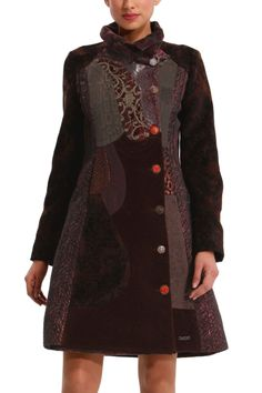 Desigual Asha Overcoat