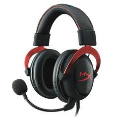 HyperX Cloud II Gaming Kopfhörer (für PC/PS4/Mac) rot