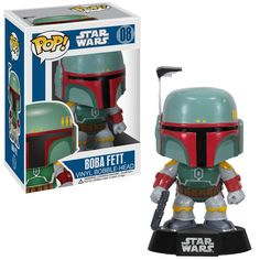 Star Wars Boba Fett Pop! Vinyl Bobble Head