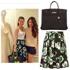 Love the skirt Skirt Fashion, Fashion Outfits, Womens Fashion, Summer Outfits, Casual Outfits, Casual Clothes, Marian Rivera, Floral Style, I Love Fashion