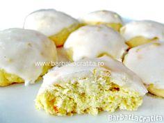 Fursecuri cu lamaie glazurate Biscotti, Food To Make, Cookies, Breakfast, Cake, Desserts, Recipes, Dessert Ideas, Drinks
