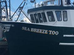 SEA BREEZE TOO Boat Names, Breeze, Broadway Shows, Sea, The Ocean, Ocean