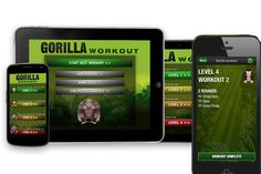 The 5 Best Fitness Apps: Gorilla Workout