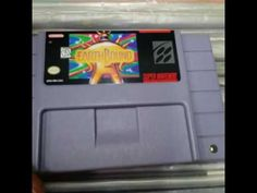 An side nintendo snes earthbound cart - YouTube