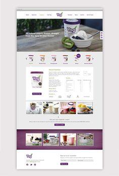 Yog Yoghurt Responsive Website   Long Story Short #Responsive #Web #Design #Yog