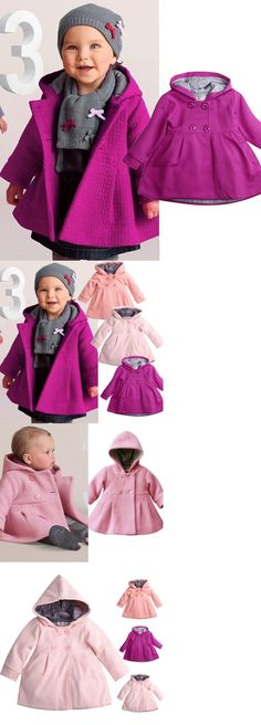 3fb2ffd60022 Outerwear 147324  Us Stock Baby Girls Fall Winter Trench Coat Wind Hooded  Jacket Kids Outerwear