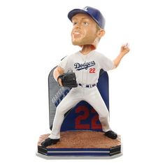 Clayton Kershaw Los Angeles Dodgers Name & Number Bobblehead