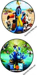 kit festa infantil rio 2
