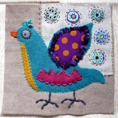 Au bonheur des mains: Sue Spargo - Bird Danse #1