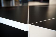 TRIGON, das neue Büromöbel-System von Martin Lesjak von 13&9 präsentiert im Designmonat Graz 2016 bei INSIDE. #dmg16 #graz #design #styria