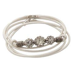 White Lightning Bracelet
