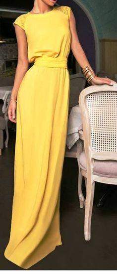 1f1546f9d 13 mejores imágenes de Vestido amarillo