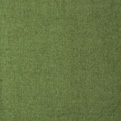 Linen/Cotton Blend: Green - Plain solid fabric. Available by the half metre.