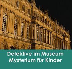 Dieses schwierige Mysterium ist eine clevere  Aktivität zum Kindergeburtstag - die einzige Unterhaltung, die benötigt  wird. Es eignet sich für Kinder im Alter von 10-14 Jahre. Im Museum kam  die unbezahlbare Büste der Königin Nefertiti abhanden!