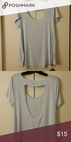 Tee Open back tee Abercrombie & Fitch Tops Tees - Short Sleeve