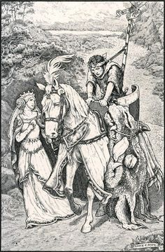Frank Cheyne Papé ~ Dragon Skin ~ The Story of the Little Merman by Ethel Reader ~ 1909 ~ via The Jersey Devil, Dragon Skin, English Artists, Merman, Black And White Illustration, Conte, Illustrators, Fantasy Art, Illustration Art