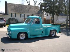 1953+ford+f100   Photo of a 1953 Ford F100 (53 Pick-em-Up)