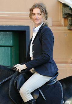 Natalia Vodianova, gorgeous! Horse riding, equestrian style