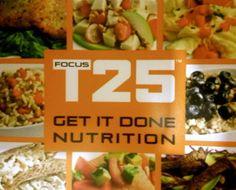 T25 Nutrition Plan PDF Download