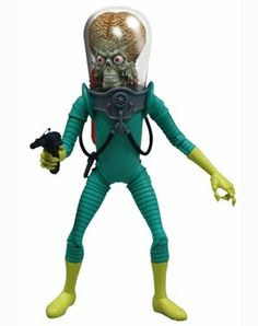 Amazon.com: Mezco Toyz Mars Attacks 6 Action Figure $18.63