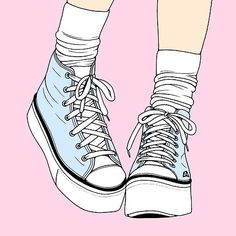 Cute wallpaper for your phone📱 Fille Anime Rose, Handy Wallpaper, Pastel Grunge, Pastel Goth Art, Tumblr Wallpaper, Shoe Art, Cute Wallpapers, Iphone Wallpapers, Wallpaper Wallpapers