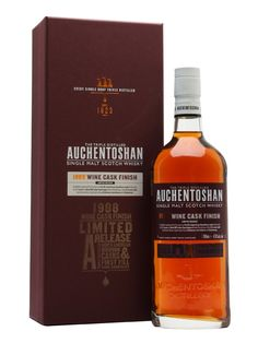 A 1988 vintage Auchentoshan, aged initially for eight years in American ex-bourbon casks, before being finished for 17 years in first-fill Bordeaux barriques. Spicy and full of red-fruit flavours.