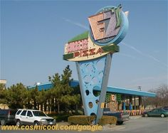 Googie Buildings | Swiss cheese building (South Charleston, WV) | Flickr - Photo Sharing!