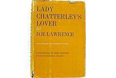 Vintage Copy of Lady Chatterley's Lover, by D. H Lawrence