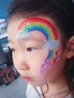 81 Best Rainbow Face Painting Ideas Rainbow Face Paint Rainbow Face Face Painting