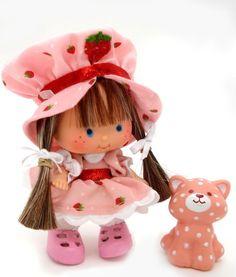 OOAK Vintage Strawberry shortcake Berrykin custom DOLL BABY HERSELF
