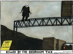 Killed by the bedroom tax