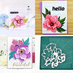 Maserfaliw Cutting Dies Stencils 3D Flower Metal DIY Scrapbooking Embossing Paper Cards Decor Mold